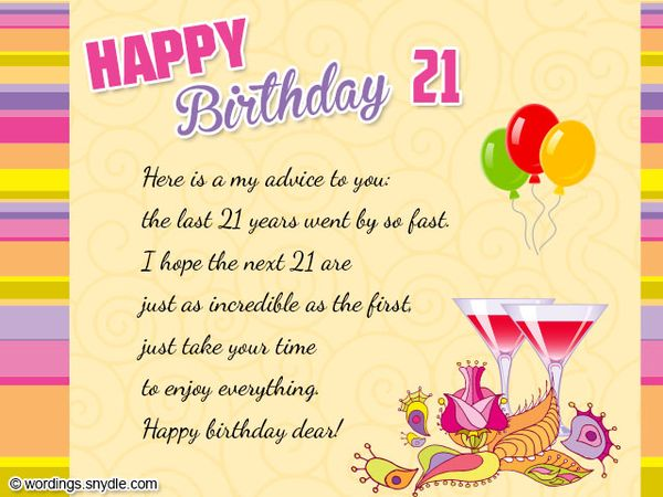 Funniest Images of 21st Birthday Cards Meme