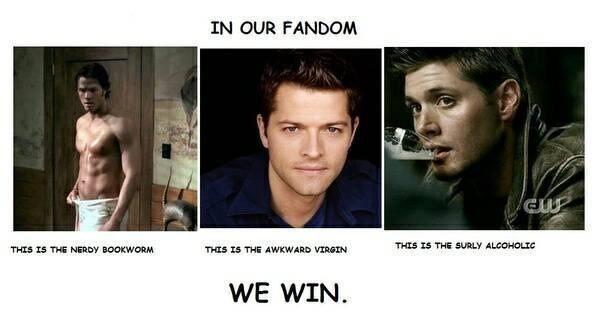 Funniest Supernatural Fan Memes Photo | QuotesBae Supernatural Fanfiction