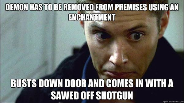 Funniest Winchester Meme Photo