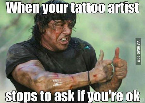 Funniest cool funny tattoo memes jokes