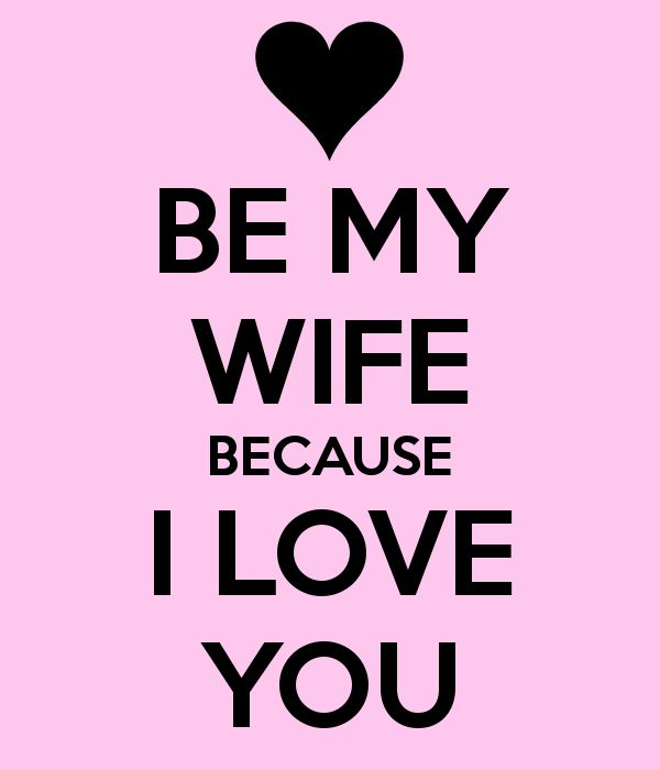 Funny Be My Wife Meme Image