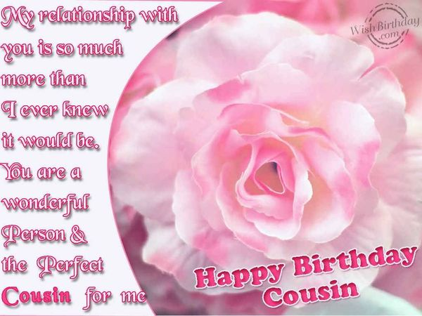 Funny Birthday Cousin Funny Quotes for Girl Meme