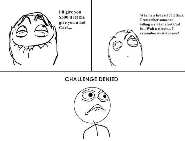 Funny Challenge Accepted Meme Face Jokes
