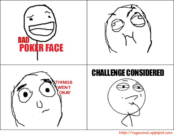 Funny Challenge Considered Meme Graphic