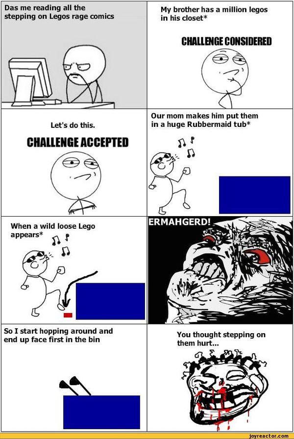 Funny Challenge Considered Meme Jokes
