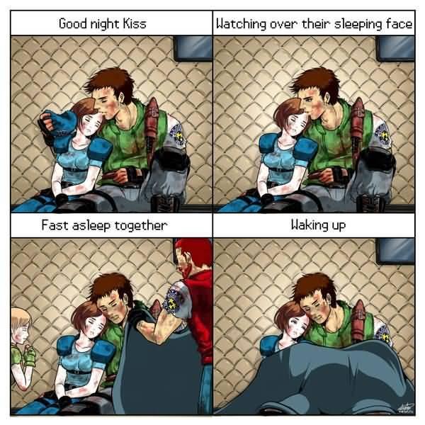 Funny Couple Fighting Meme Photo