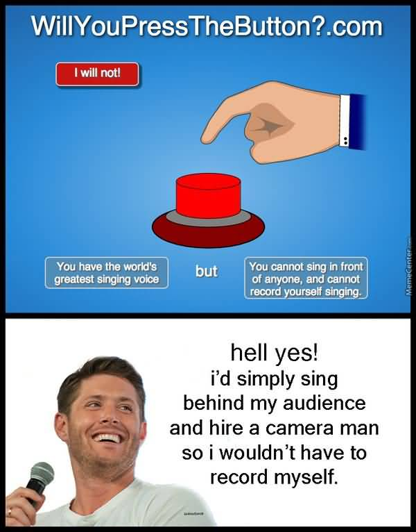 Funny Dean Winchester Memes Graphic
