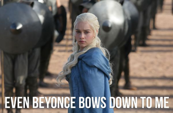Funny Game of Thrones Daenerys Meme Image