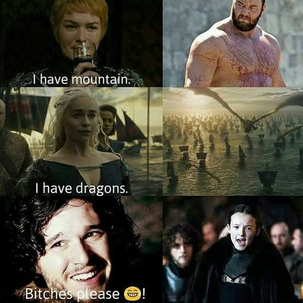 Funny Game of Thrones Election Meme Jokes