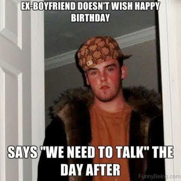 Funny Good Birthday Memes for Boyfriend Image