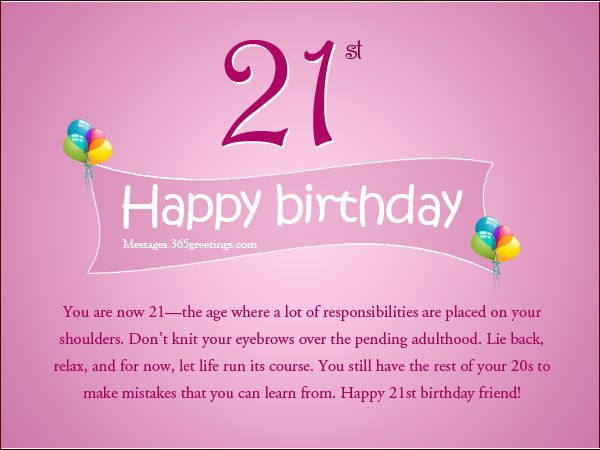 Funny Happy 21st Birthday Images for Her Memes