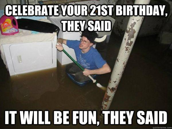 Funny Happy Bday 21 Year Old Memes Joke