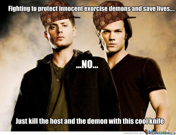 Funny Sam and Dean Memes Graphic
