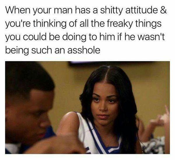 Funny When Your Boyfriend Meme Image
