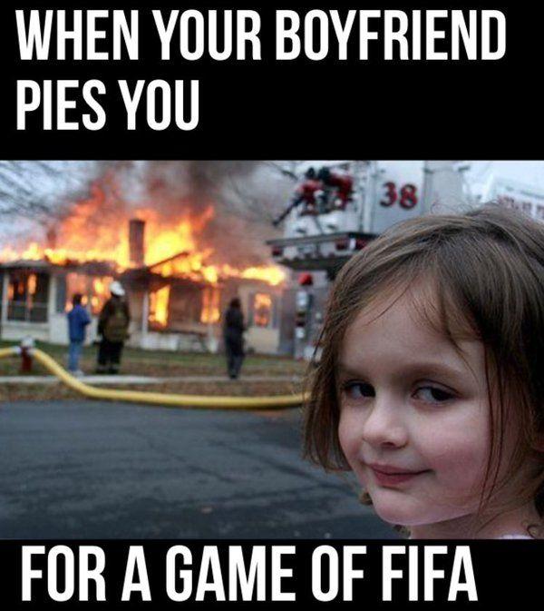 Funny When Your Boyfriend Meme Picture