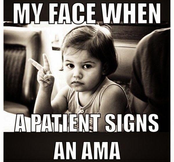 Funny amazing er nurse meme image