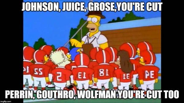 Funny amazing homer simpson salivating meme image