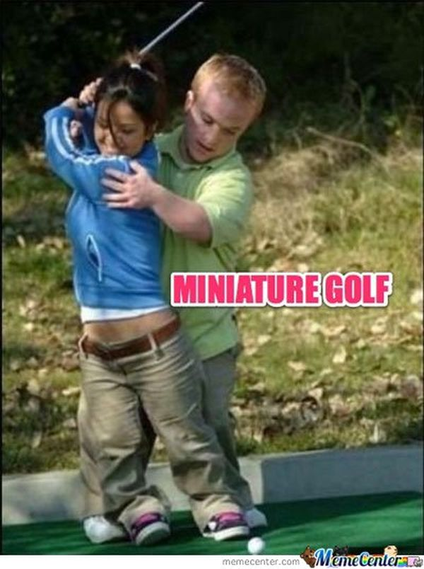 Funny amazing rude golf pictures meme