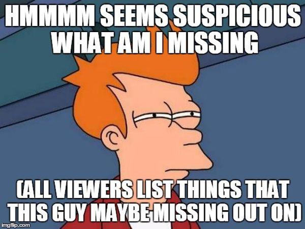 Funny amazing suspicious futurama meme picture