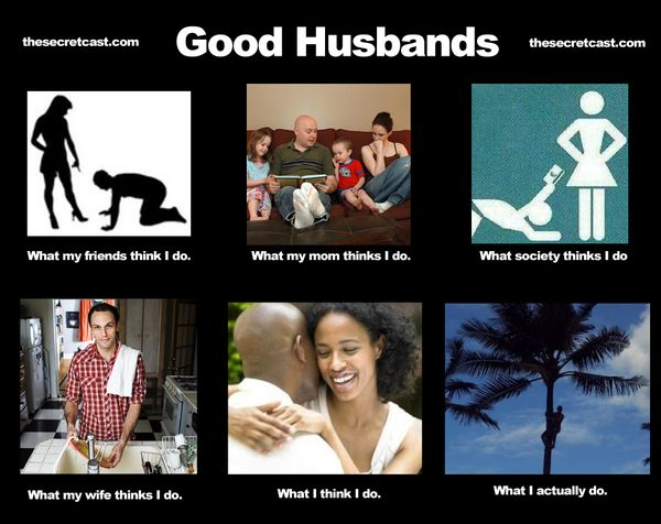 Funny awesome husband meme photo