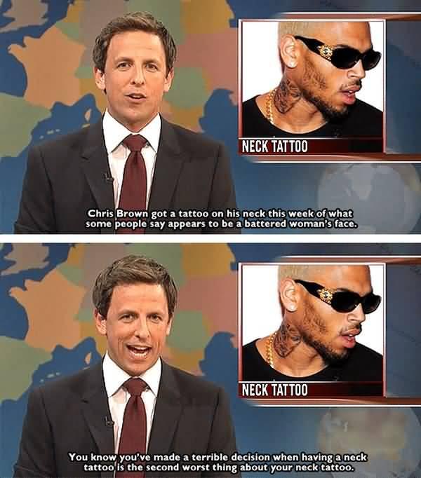 Funny best neck tattoo meme jokes