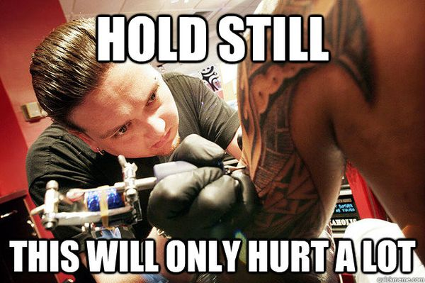 Funny best tattoo artist meme photo
