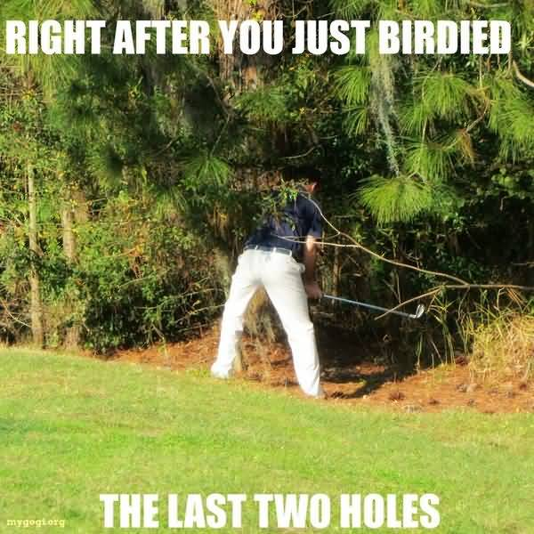 Funny common silly gay golf jokes image
