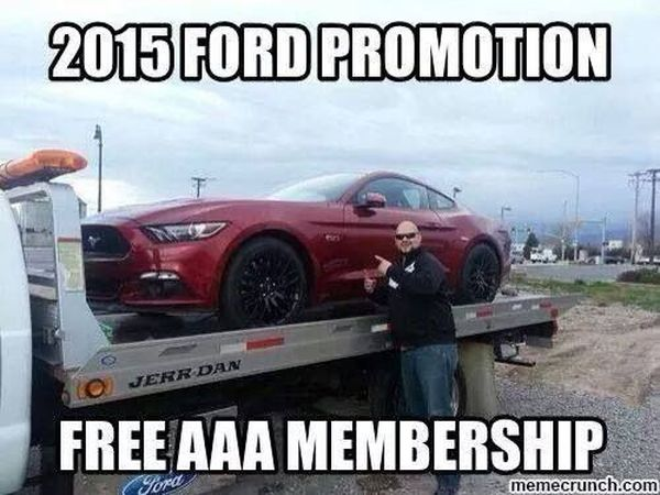 Funny cool ford puns humor picture