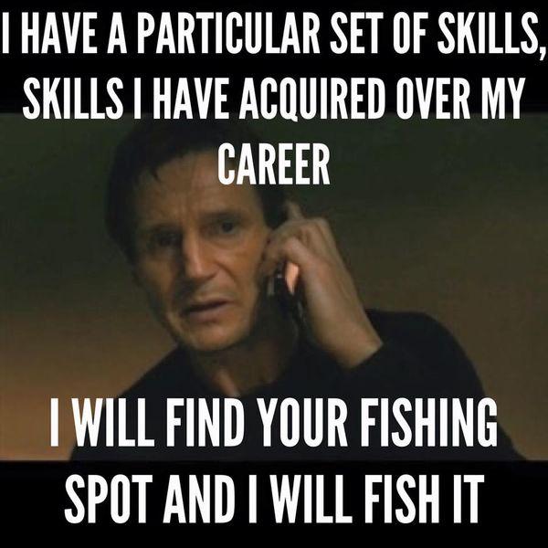 Funny dirty fishing meme photo