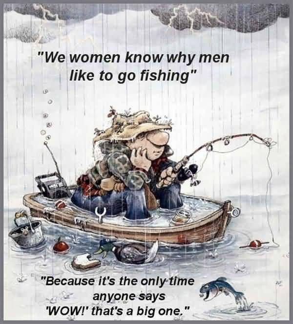 Funny drunk fishing humor picture
