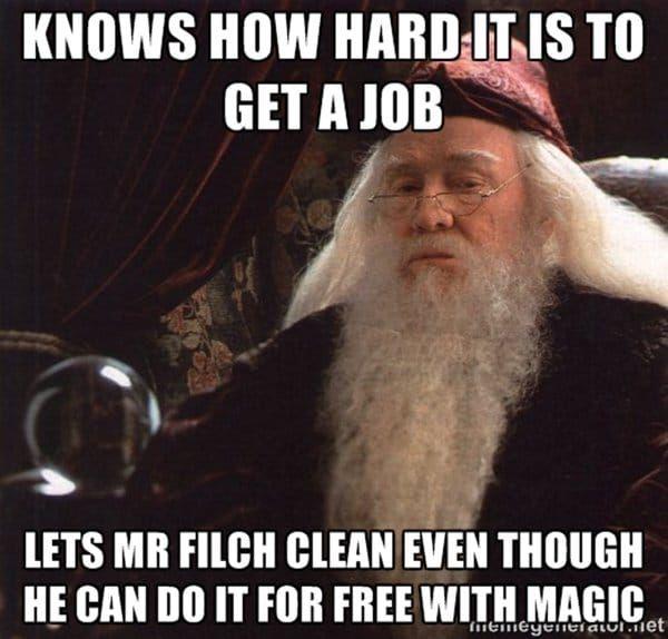 Funny dumbledore memes photo
