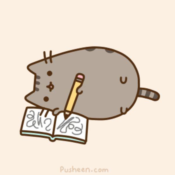 Funny fat cat cartoon meme joke
