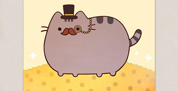 Funny fat cat cartoon meme jokes