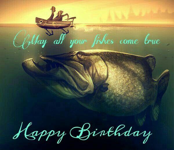 Funny happy birthday fisherman joke