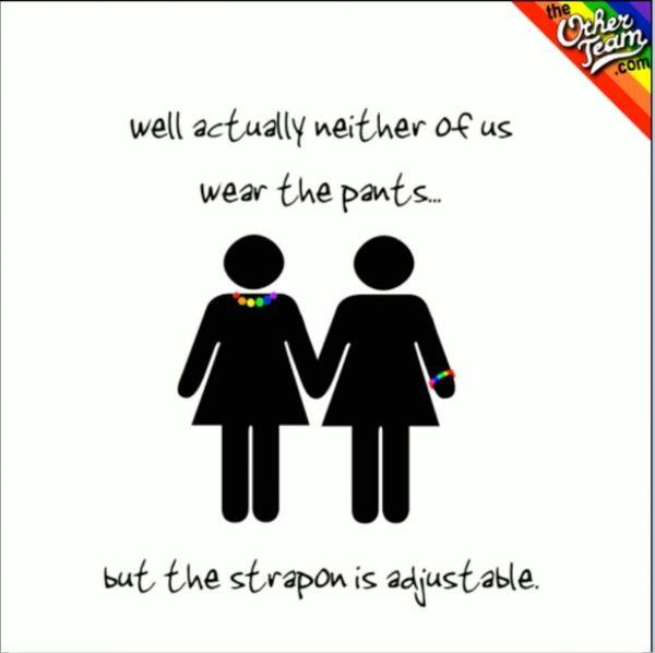 Funny lesbian humor image