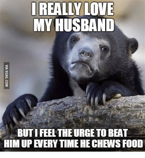 Funny love my husband meme picture