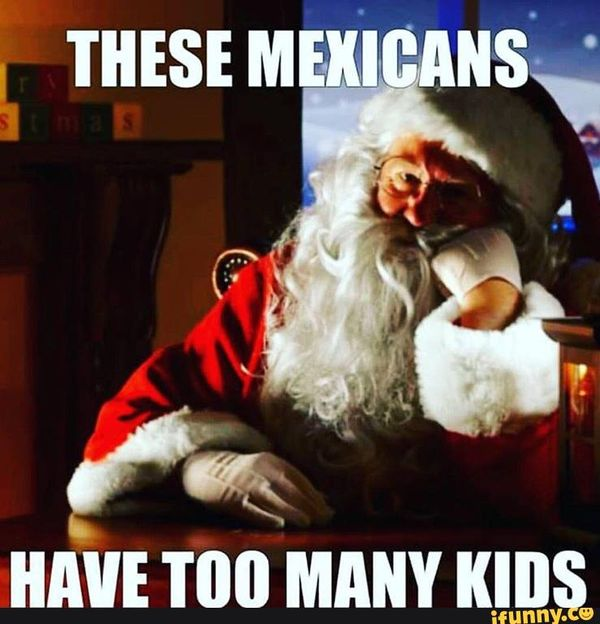 Funny mexican christmas meme picture