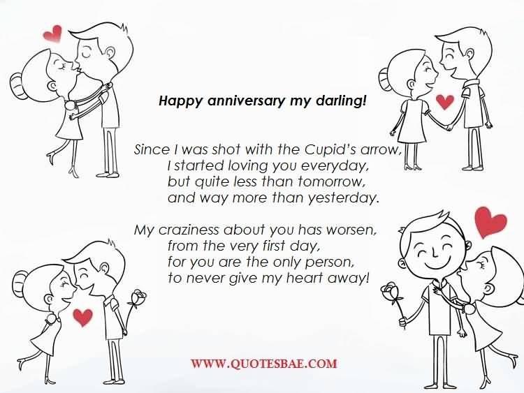 Happy Anniversary Poems For Him Graphics