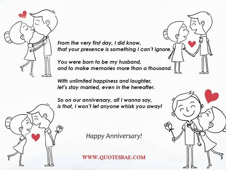 Happy Anniversary Poems For Him Photo