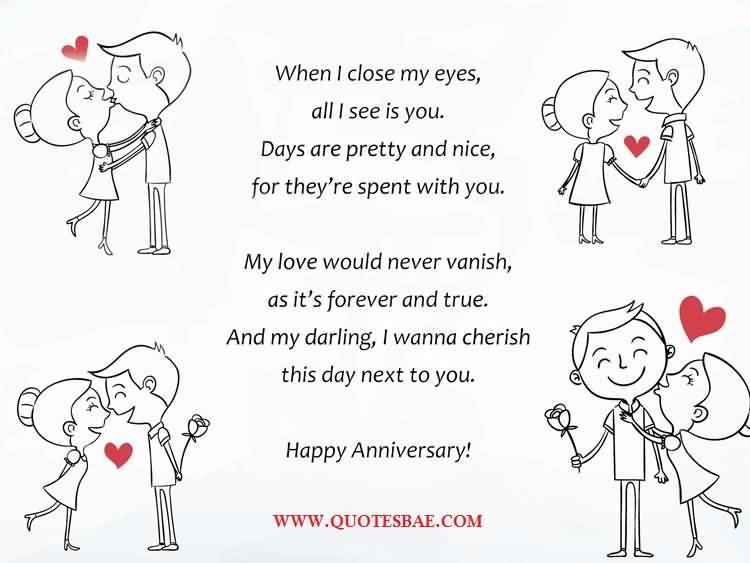 Happy Anniversary Poems For Him Wallpaper