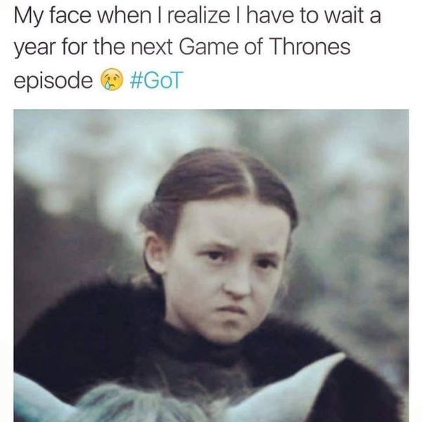 Hilarious Game of Thrones Season 8 Meme Images