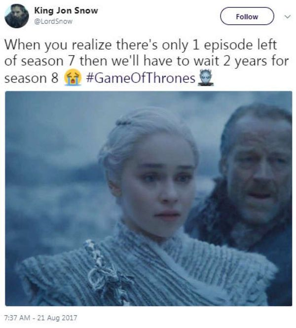 Hilarious Game of Thrones Season 8 Meme Jokes