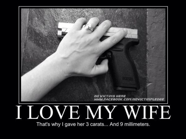 Hilarious I Love My Wife Picture Joke