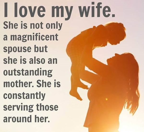 Hilarious I Love My Wife Quotes Image