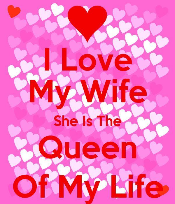 Hilarious I Love My Wife She Is The Queen Photo