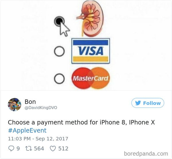 Hilarious Iphone 8 Memes Jokes