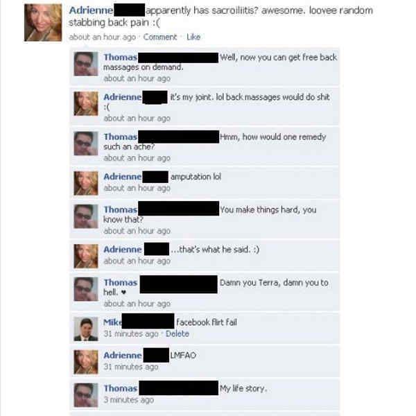 Hilarious funny flirt images joke