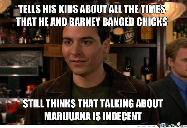 Hilarious ted mosby meme image