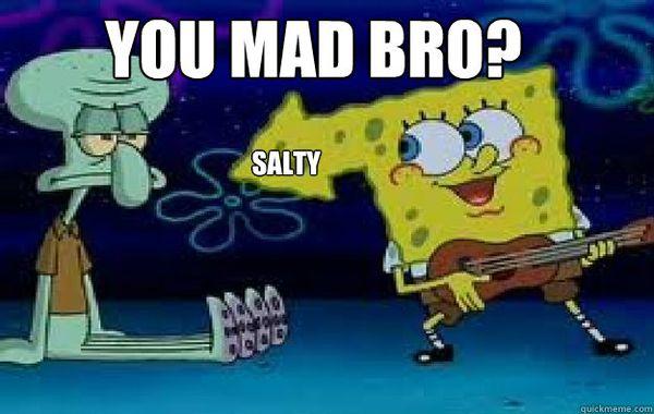 Hilarious unbeliaveble funny salty meme joke