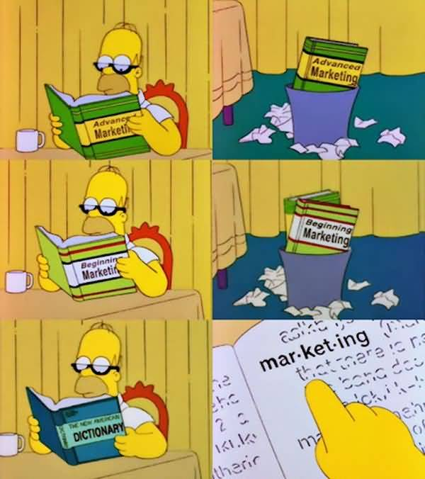Hilarious usual homer simpson salivating meme image